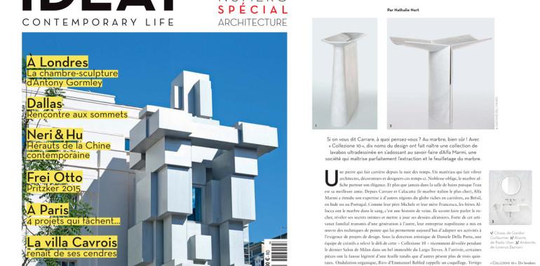Articolo realizzato da Nathalie Nort per Ideat Hors-série Architecture